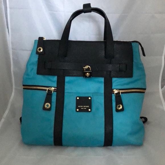 00d2f3280 henri bendel Handbags - RARE Henri Bendel Large Nylon Jetsetter Cobalt EUC